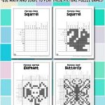 Printable Picross Grid Puzzles
