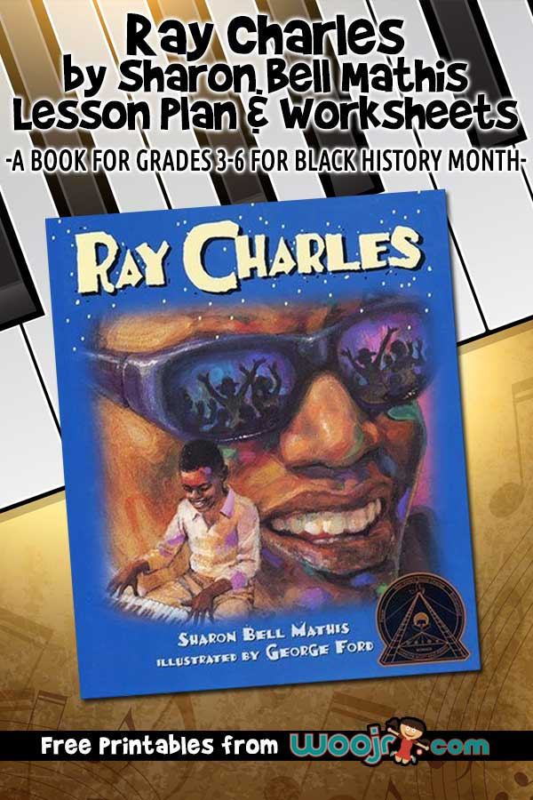 Ray Charles by Sharon Bell Mathis - Lesson Plan and Worksheets