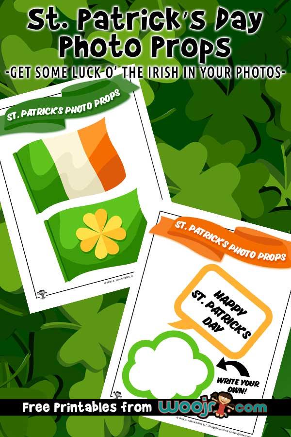 St. Patrick's Photo Props