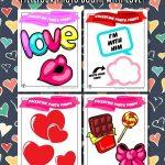Printable Valentine's Day Photo Props
