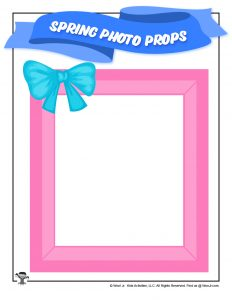 Easter Spring Photo Frame Prop