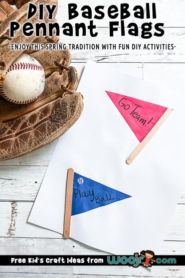 Baseball Pennant Flag Craft