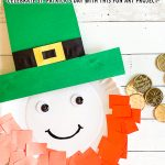 Paper Plate Leprechaun Craft for St. Patrick's Day