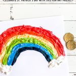 DIY Puffy Paint Rainbow Craft