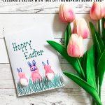 Thumbprint Bunny Easter Cards DIY