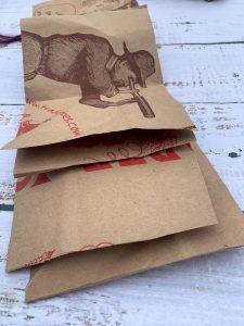 Repurpose Paper Grocery Bag