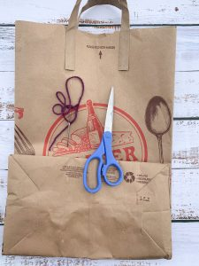 Recycled Paper Bag Journal