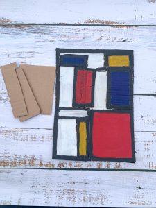 Make it Like Mondrian - Geometric Abstract Painting