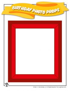 Birthday Party Photoshoot Picture Frame