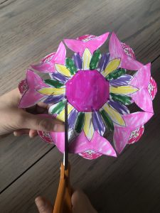 Paper Craft Easter Basket Template