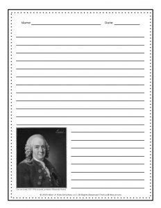 Taxonomy Carl Linnaeus Writing Worksheets