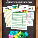 Printable Reward System for Kids