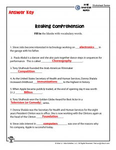 Reading Comprehension Questions Lesson Plan