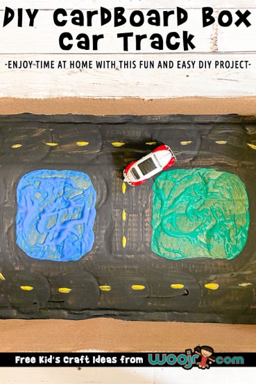 DIY Toy Car Track from a Box