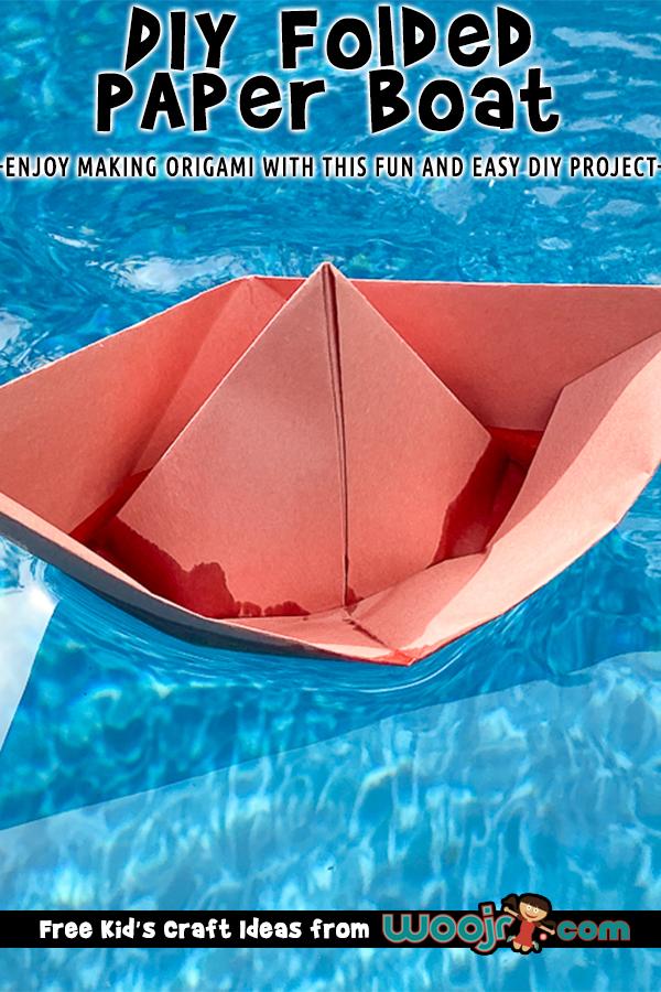DIY Paper Boat Origami