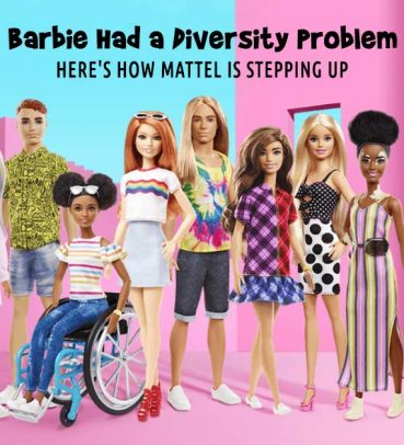 Barbie Had a Diversity Problem. Here's How Mattel is Stepping Up.