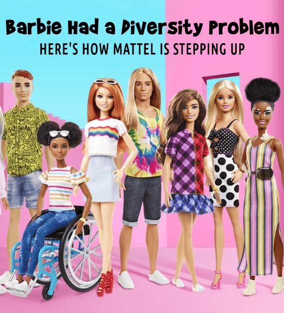 Barbie Had a Diversity Problem