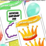 Birthday Party Photo Props
