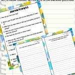 Printable Journal Prompts for Kids & Teens