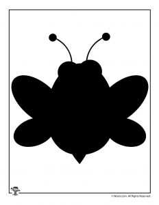 Bumble Bee Nature Silhouette Art Image