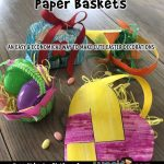 Printable Spring Paper Baskets