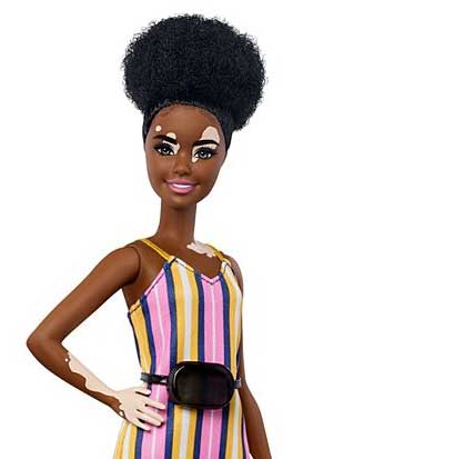 Barbie® Fashionistas™ Doll #135 with Vitiligo