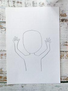 Beginning Basquiat Art Project for Kids