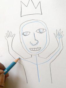 Beginning Basquiat