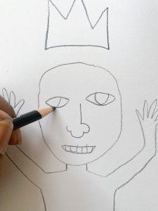 How to Draw Like Basquiat