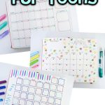 Bullet Journaling for Teens – Monthly Layouts