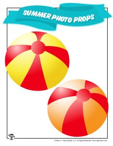 Free Printable Beach Ball