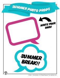 Free Summer Photoshoot Props