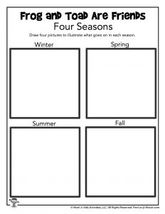 Illustrate Four Seasons Drawing Practice