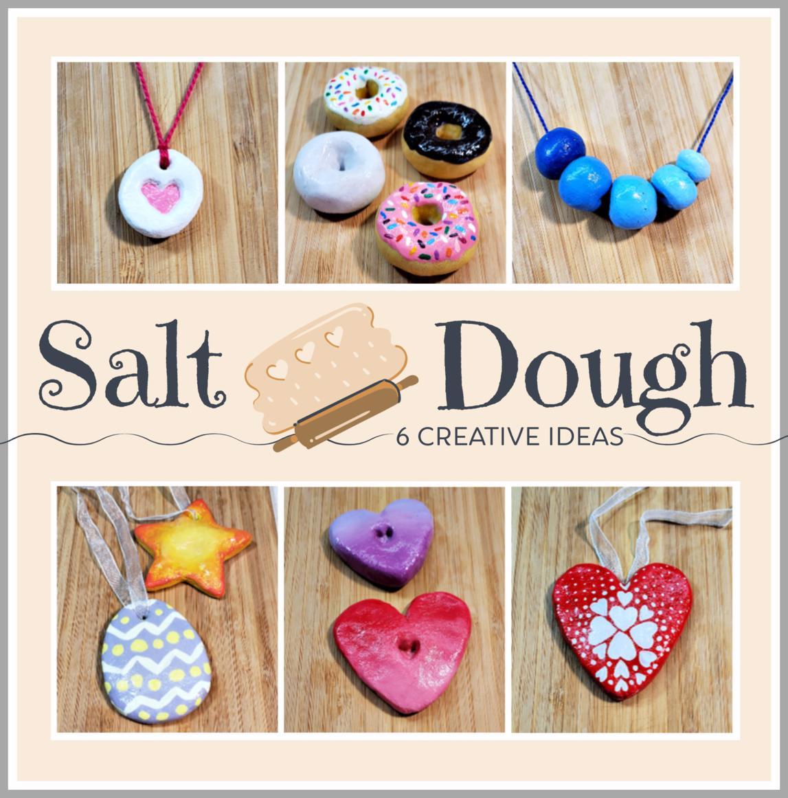 6 Easy Salt Dough Craft Ideas Woo Jr Kids Activities