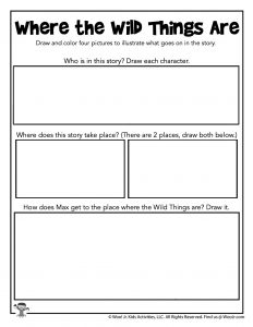 Story Drawing Printable Worksheet