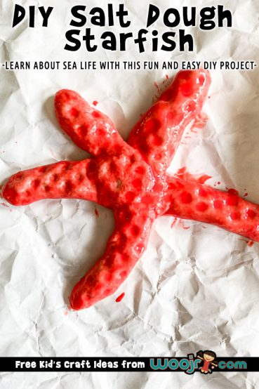 DIY Salt Dough Starfish Project