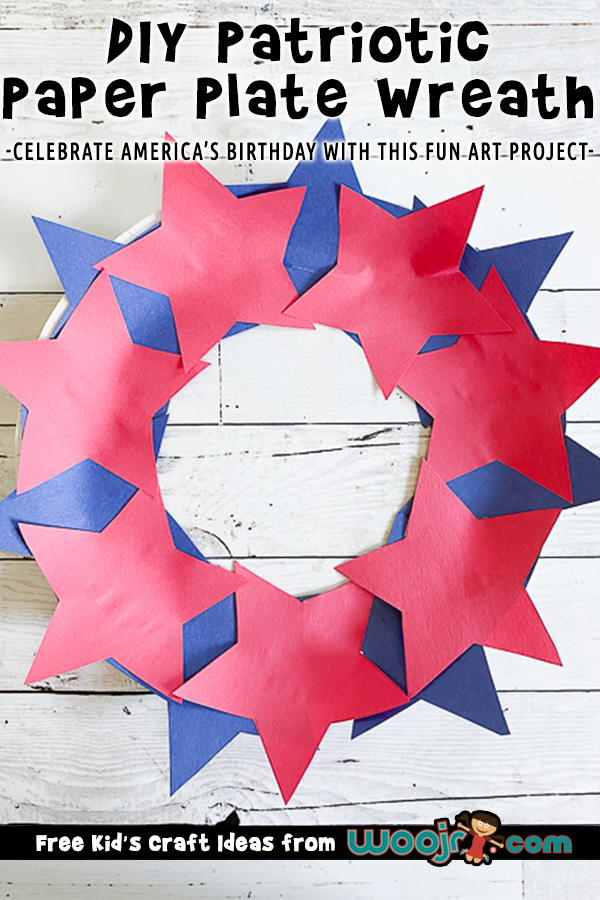 DIY Patriotic Star Wreath Project
