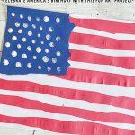 Torn Paper Flag Art Project