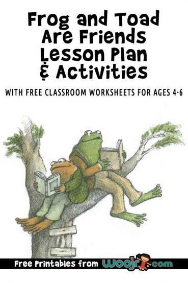 Frog and Toad Are Friends – Lesson Plan and Activities