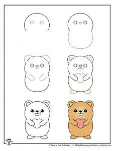 How to Draw Kawaii Characters