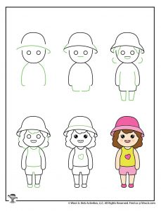 How to Draw People Kids