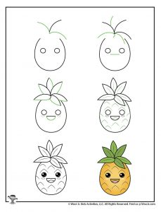 Kawaii Characters Art Lessons