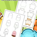 Kawaii Drawing for Kids Tutorials