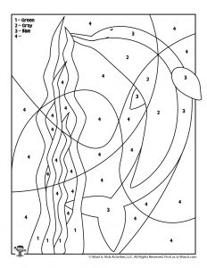 Ocean Dolphin Free Printable Coloring Page