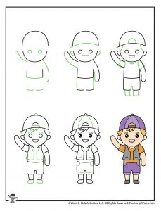 How to Draw a Child Step by Step