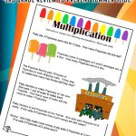 Summer Multiplication Word Problems for 3rd Grade