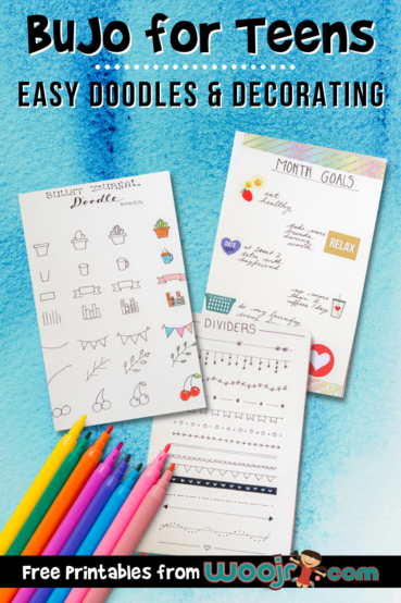 Easy Doodles For Your BuJo