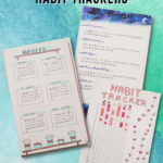 BuJo Habit Trackers for Teens