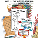 Printable Dragon Activity Pages