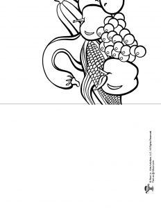 Free Mazao Kwanzaa Printable Coloring Page